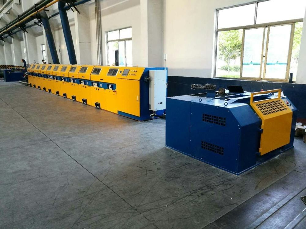 600m / Min Speed Continuous Wire Drawing Machine With Annealer LZ6 / 560
